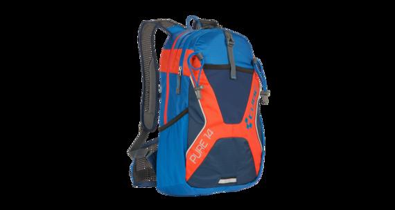 Cube Pure 14 Plecak pomarańczowy/niebieski